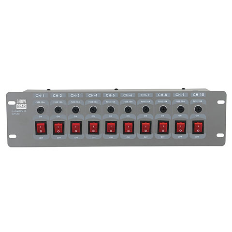 Showtec DJ-Switch 10