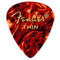 Plektrum Fender 351 shell, thin (12 Stk)