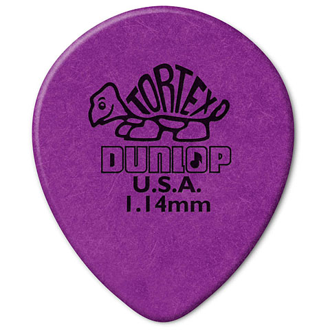 Dunlop Tortex TearDrop 1,14mm (72Stck)