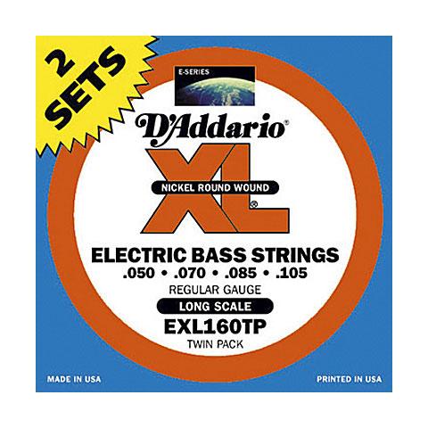 D'Addario EXL160TP Nickel Wound .050-105