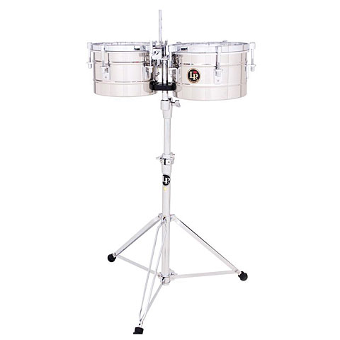 Latin Percussion Tito Puente LP272-S Timbalitos Stainless Steel