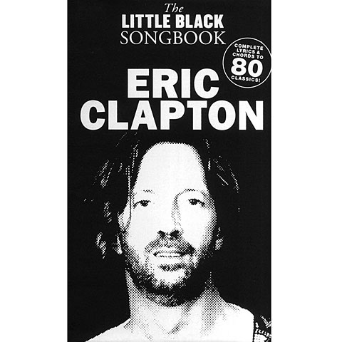 Music Sales The Little Black Songbook Eric Clapton
