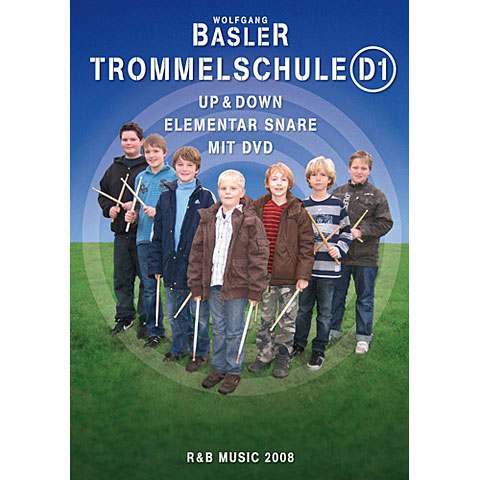 R & B Music Trommelschule D1 - Up & Down