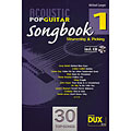Notenbuch Dux Acoustic Pop Guitar Songbook 1, Notenbücher
