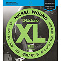 D'Addario EXL165-5 Nickel Wound .045-135 « Saiten E-Bass
