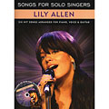Sing-Along Music Sales Songs For Solo Singers Lily Allen