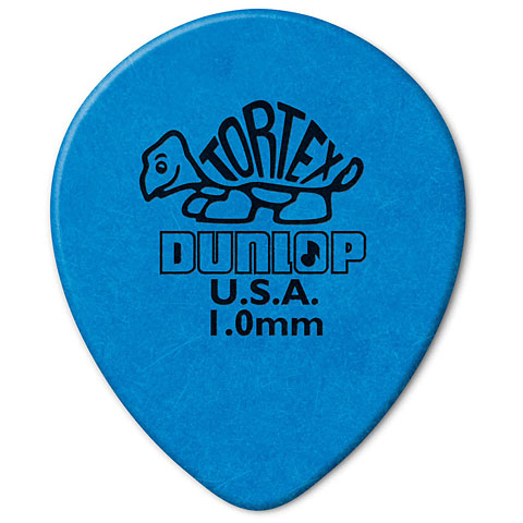 Dunlop Tortex TearDrop 1,00mm (72Stck)