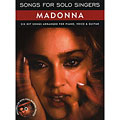 Sing-Along Music Sales Songs For Solo Singers Madonna