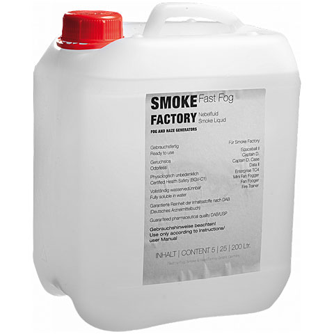 Smoke Factory Fast Fog Fluid 5L