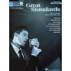 Hal Leonard Pro Vocal Men's Edition Vol.22 - Great Standards