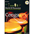 Lehrbuch Schott World Of Percussion Conga, Drums und Percussion