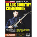 DVD Roadrock Lick Library Learn to Play Black Country Communion, DVDs