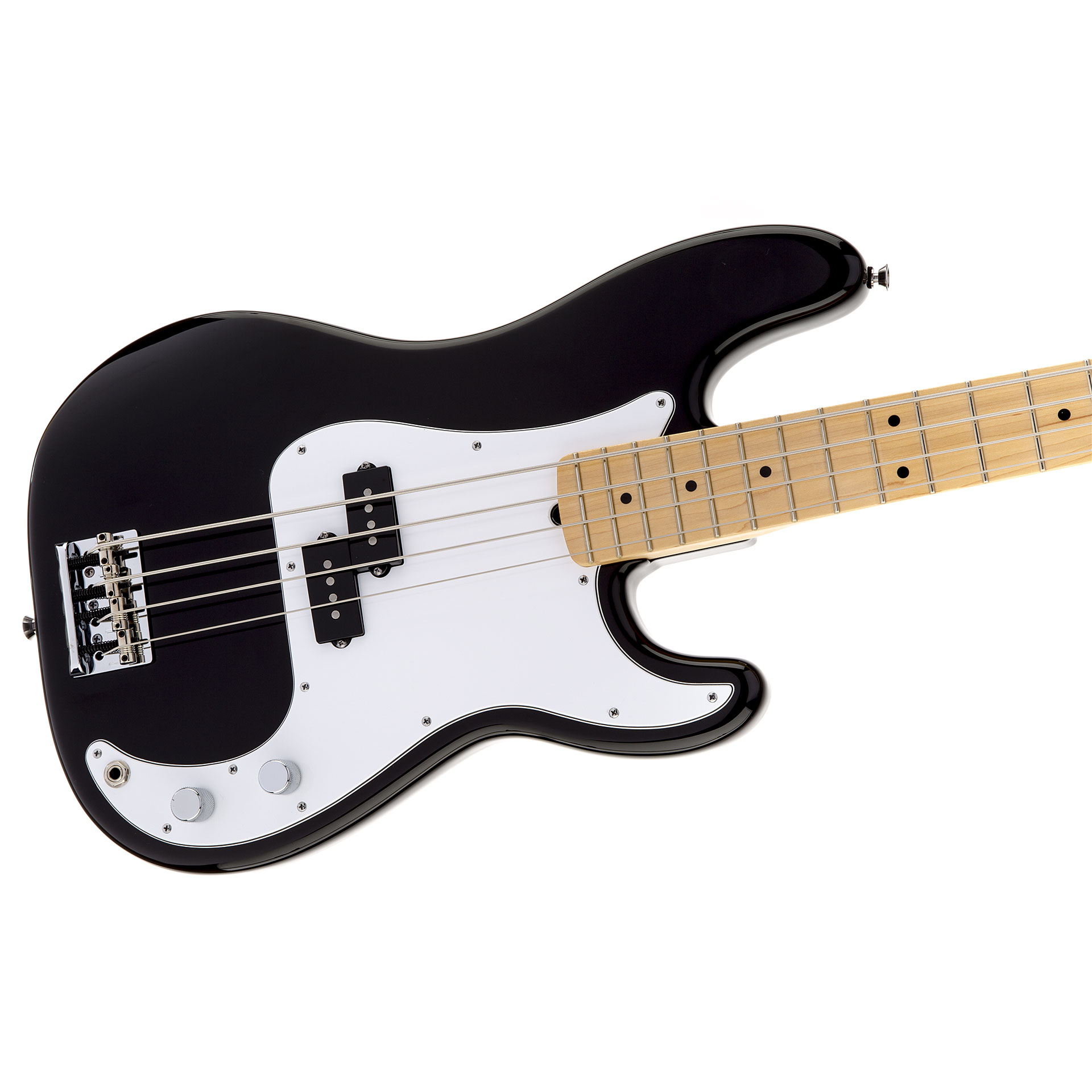 fender american standard precision bass mn blk e bass. Black Bedroom Furniture Sets. Home Design Ideas