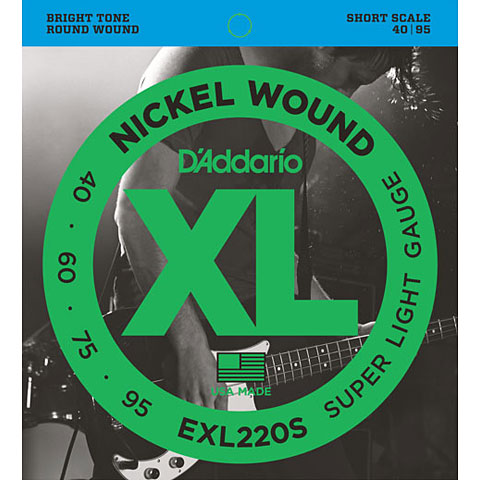 D'Addario EXL220S Nickel Wound .040-095