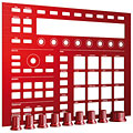 MIDI-Controller Native Instruments Maschine Custom Kit Dragon Red