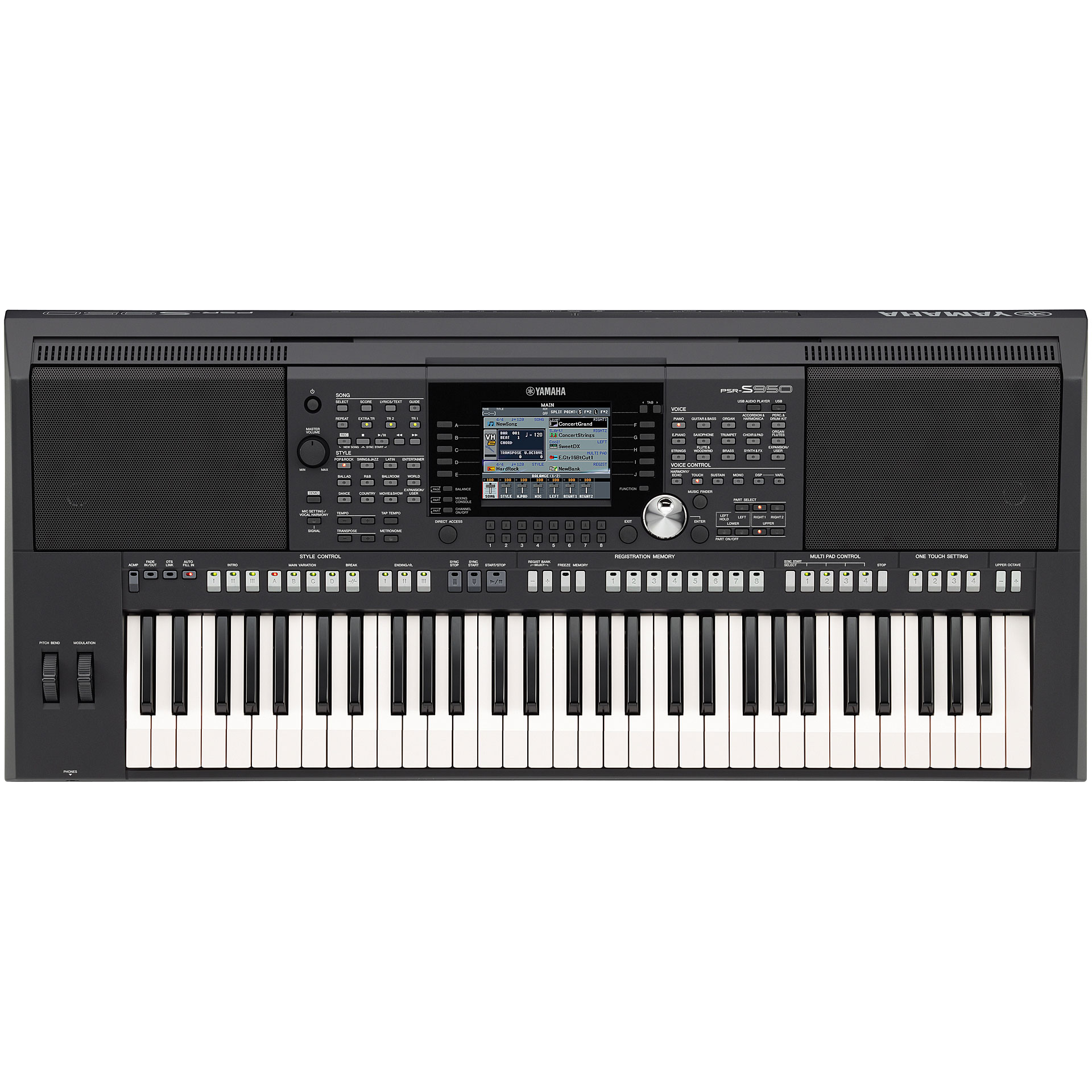 yamaha psr s950 keyboard. Black Bedroom Furniture Sets. Home Design Ideas