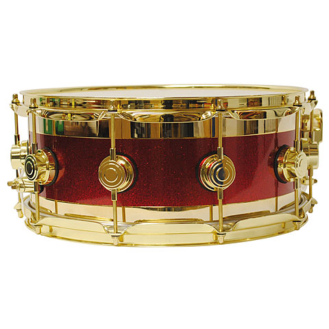 DW Edge Laquer Specialty 14 x 6  Neil Peart