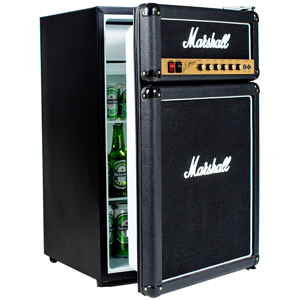 marshall fridge k hlschrank geschenkartikel. Black Bedroom Furniture Sets. Home Design Ideas