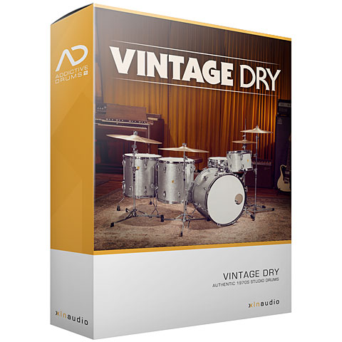 XLN Audio Addicitve Drums 2 ADPak Vintage Dry
