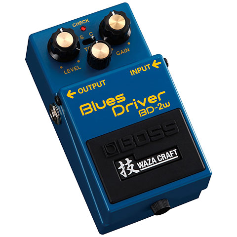 boss bd 2w blues driver waza craft effektger t e gitarre