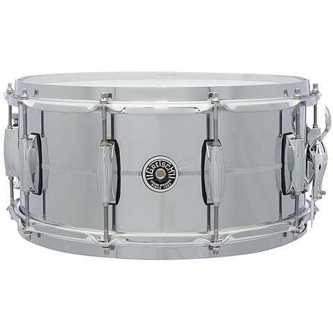 Gretsch USA Brooklyn 14  x 6,5  Chrome over Steel Snare
