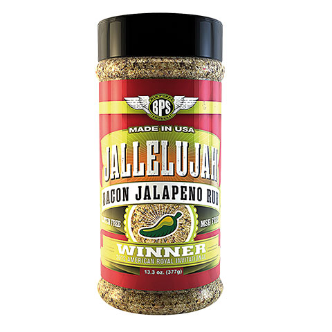 Big Poppa Smokers BPS Jallelujah w/Bacon Rub 13.3 oz/377 g