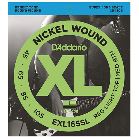 D'Addario EXL165SL Nickel Wound .045-105