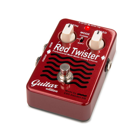 EBS Red Twister Guitar Edition