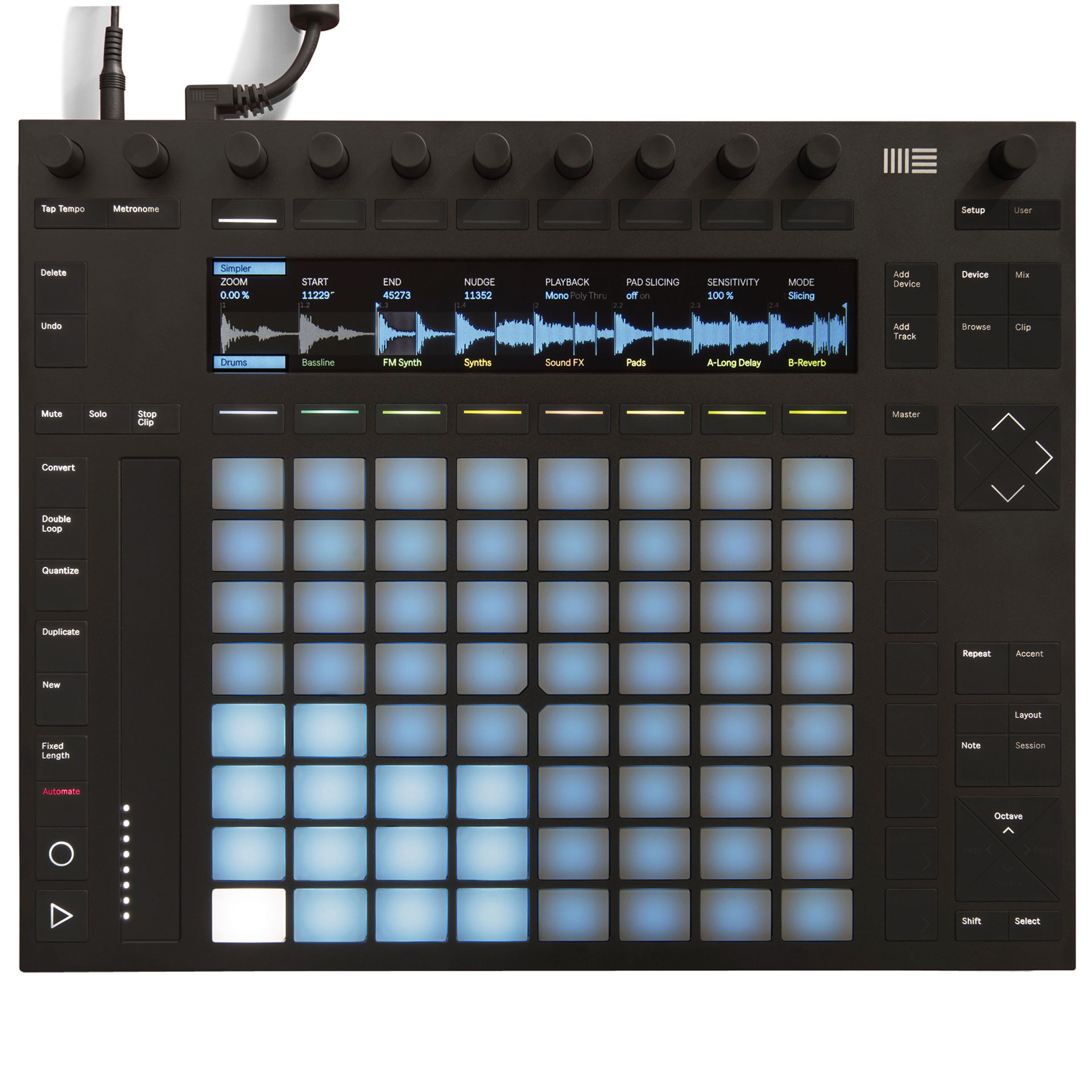 ableton push 2 midi controller. Black Bedroom Furniture Sets. Home Design Ideas