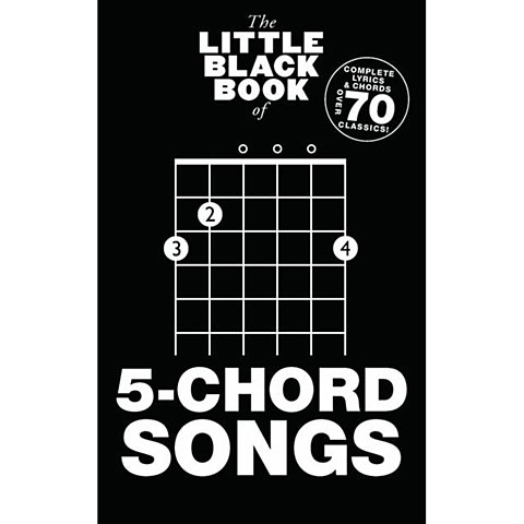 Music Sales The Little Black Book of 5-Chord Songs