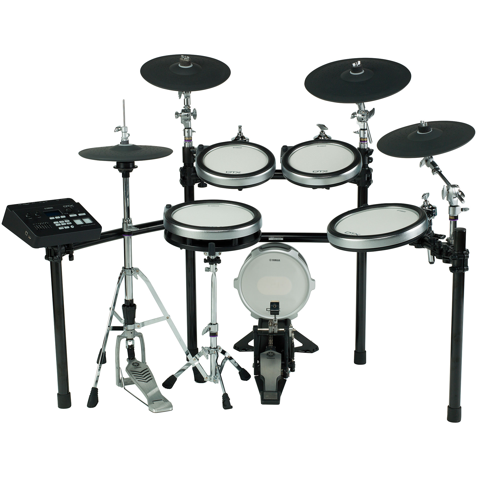 Yamaha dtx760k e drum set for Electric drum set yamaha