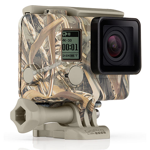 GoPro Camo Housing + Quick Clip (MAX-5)