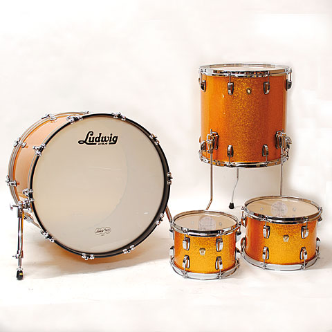 Ludwig Classic Maple 22  Gold Sparkle