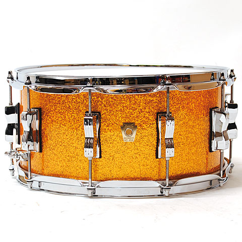 Ludwig Classic Maple 14  x 6,5  Gold Sparkle
