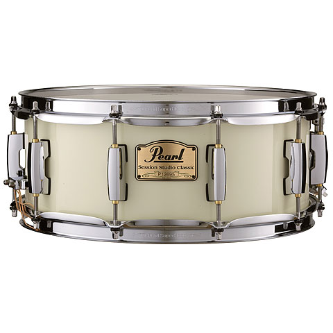 Pearl Session Studio Classic 14 x5,5  Snare Antique Ivory