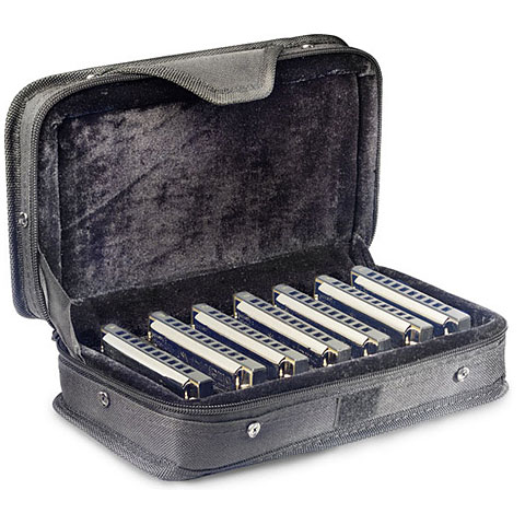 Stagg Blues Harp Set