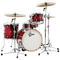 "Gretsch Catalina Club 18"" Gloss Crimson Burst Drumset « Schlagzeug"