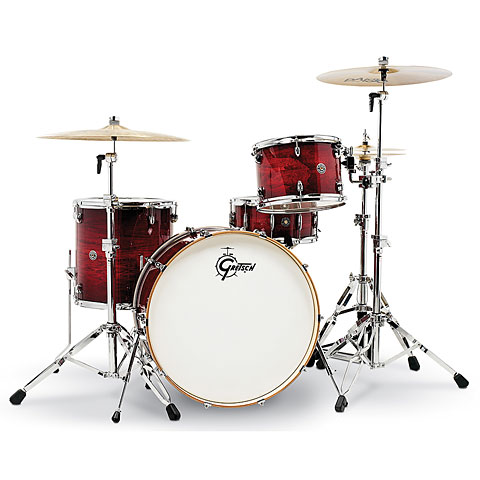 Gretsch 24  Gloss Crimson Burst Drumset
