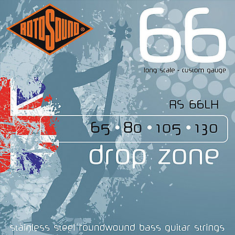 Rotosound drop zone RS66LH