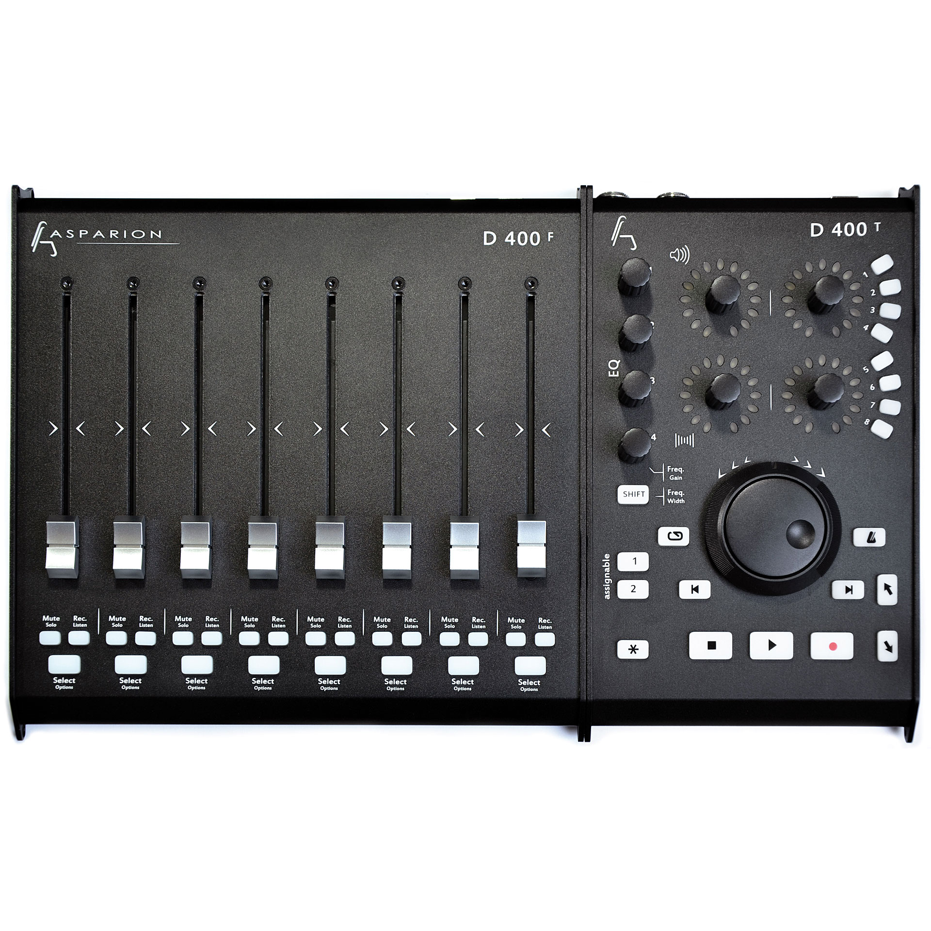 Asparion d400 bundle 10090048 midi controller for Daw control surface motorized faders