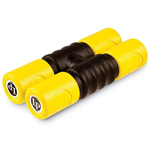 Latin Percussion Twist Shaker Single Lock Yellow/Soft