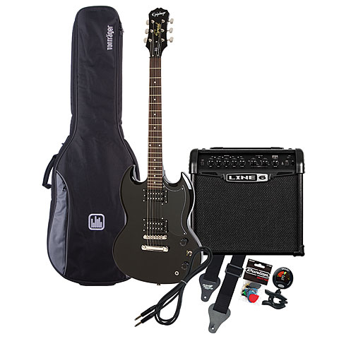 Epiphone SG Special EB / Line 6 Spider Classic 15 MP-Bundle