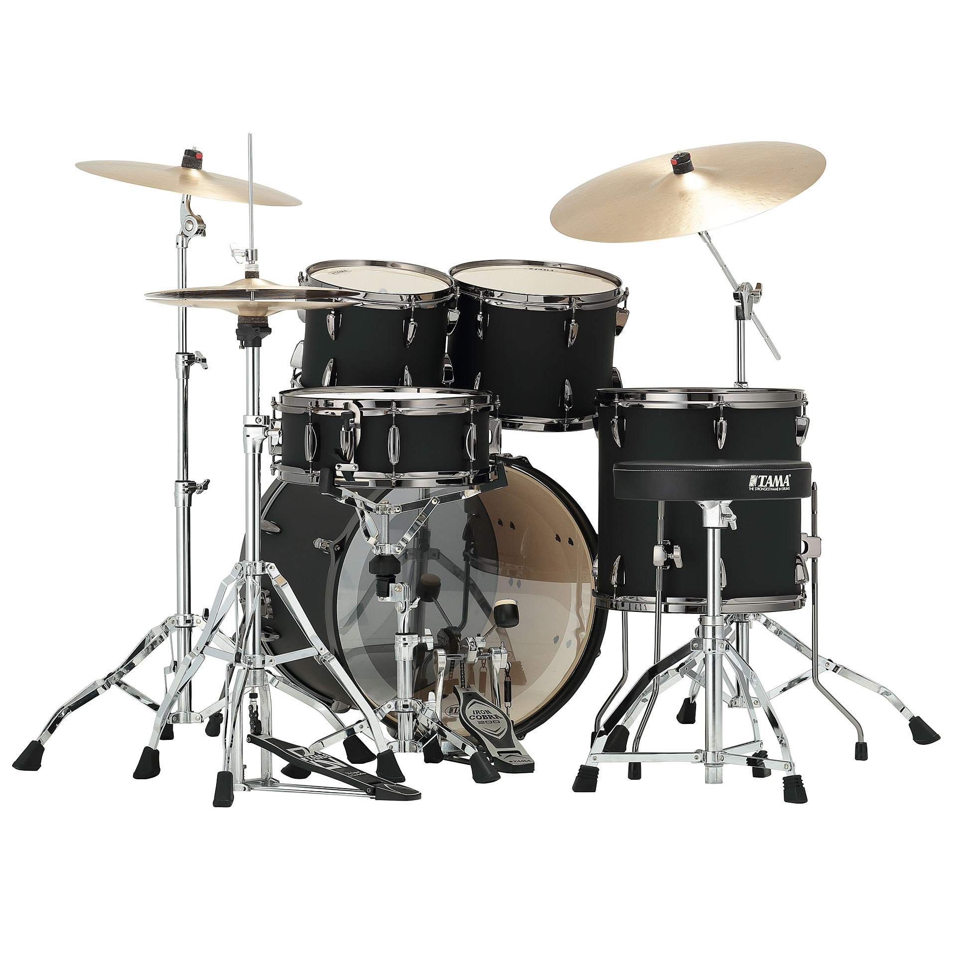 Tama Imperialstar 20 Quot Blacked Out Black 171 Schlagzeug