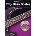 Lehrbuch Music Sales Step One: Play Bass Scales, E-Bassgitarren