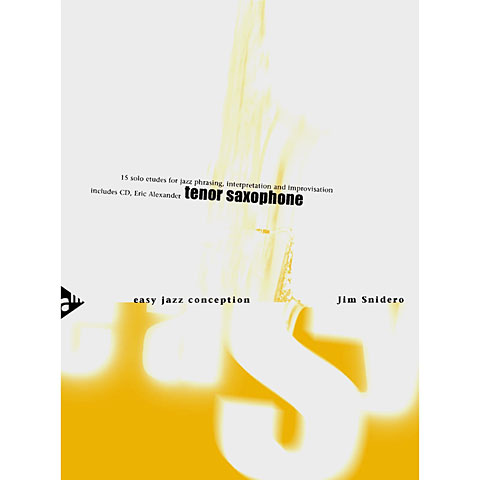 Advance Music Easy Jazz Conception for Tenor & Soprano Saxophone