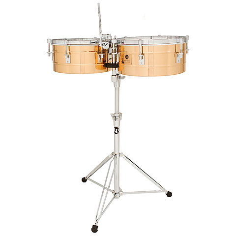 Latin Percussion Tito Puente LP257-BZ Bronze Timbales