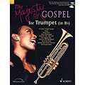 Play-Along Schott The Majesty of Gospel for Trumpet