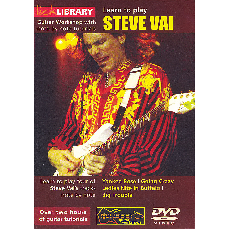 Lick library steve vai