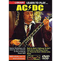 DVD Roadrock Lick Library Learn to Play AC/DC, DVDs