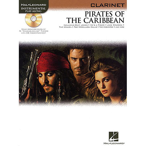 Hal Leonard Pirates of the Caribbean for Clarinet